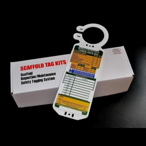 aluminium mobile scaffold safety tag kit