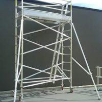 Aluminium mobile scaffold