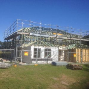 Residential scaffolding Project